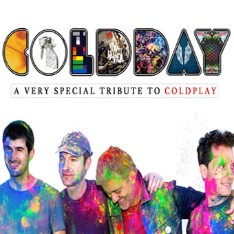 Coldday, tributo a Coldplay, 5 octubre en Granada
